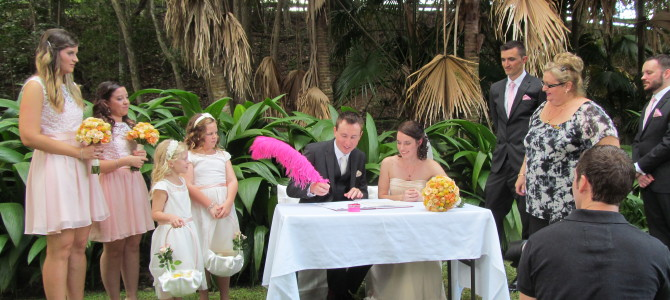 Amy & Phil – Testimonial {Tweed Heads Wedding Celebrant – Kim-Maree Summers}
